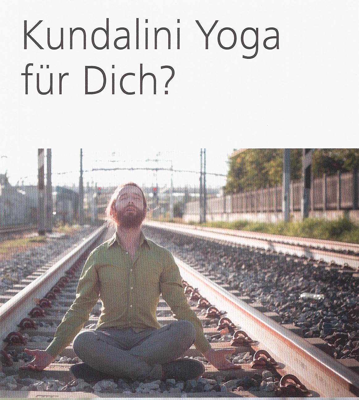 Kundalini für Dich? Flyer von Susanne Fleck